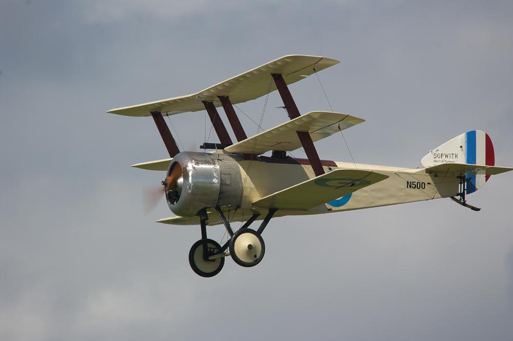 British WW1 Triplane