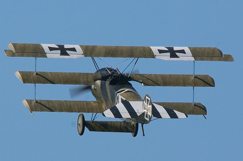 German WW1 Triplane