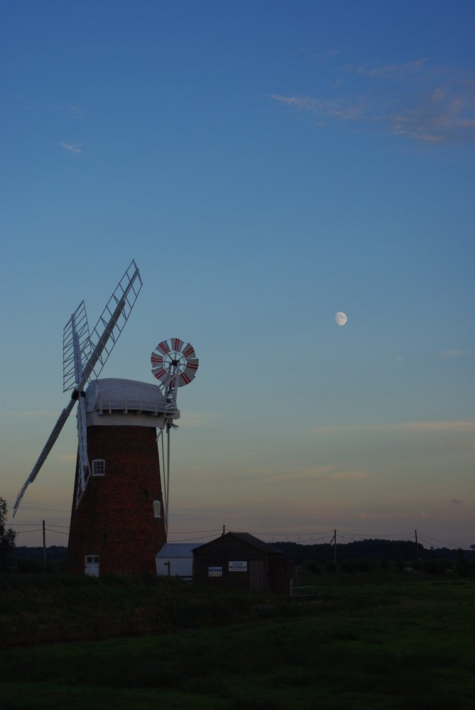 Mill and the Moon