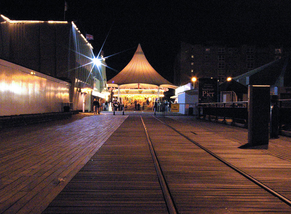 Night at Southport Pier