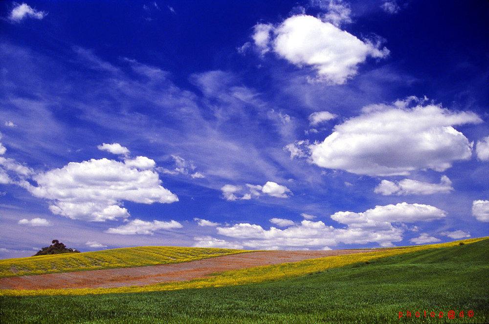 Sky & Clouds close to Siena