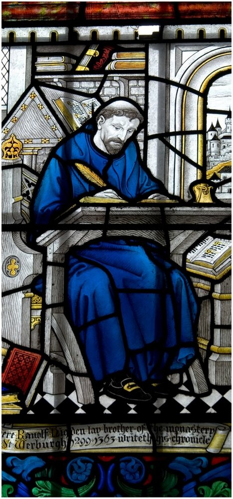 Stained glass, Chester Cathedral