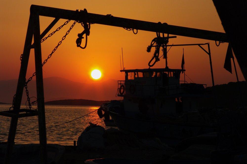 Sunset in Erythrai