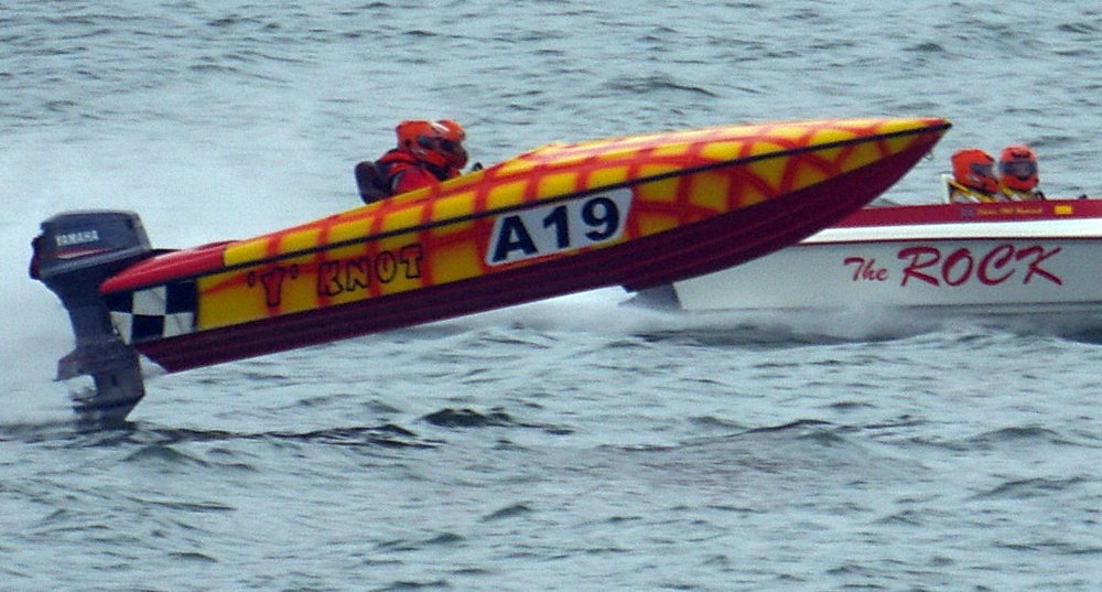 OCR powerboats