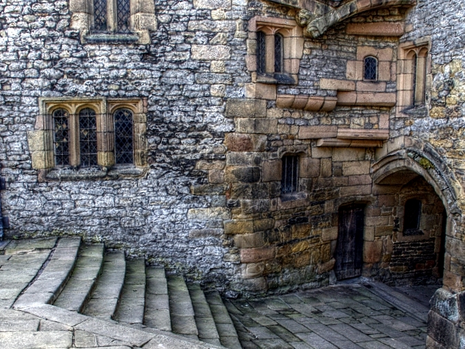 old stone & windows