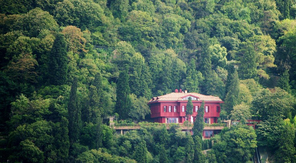 Secluded Red House