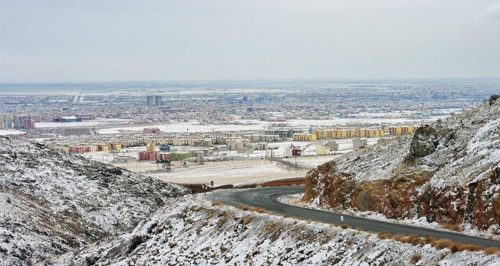 First Snow in Konya