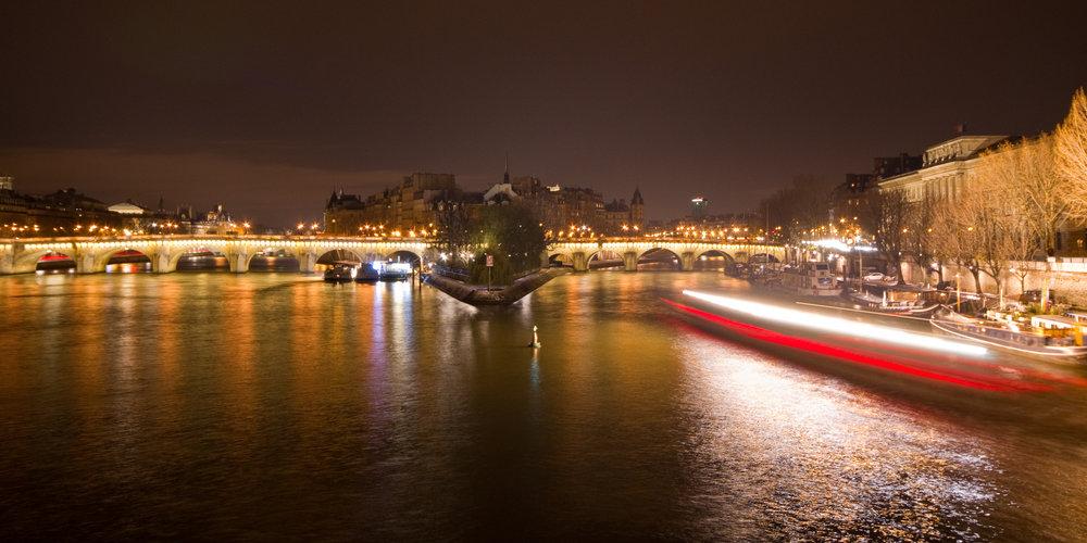 From ponts des arts, Paris