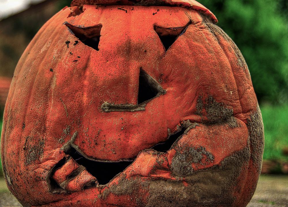 Halloween is over