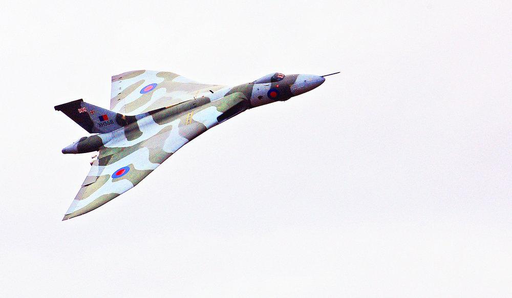 vulcan bomber xh558 fairford