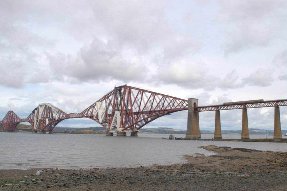 A Train Journey on the Forth Rail Bridge