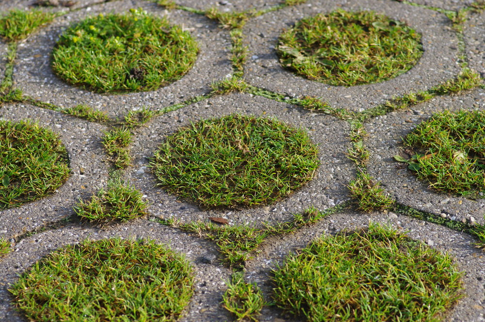 Precast Grass Pattern