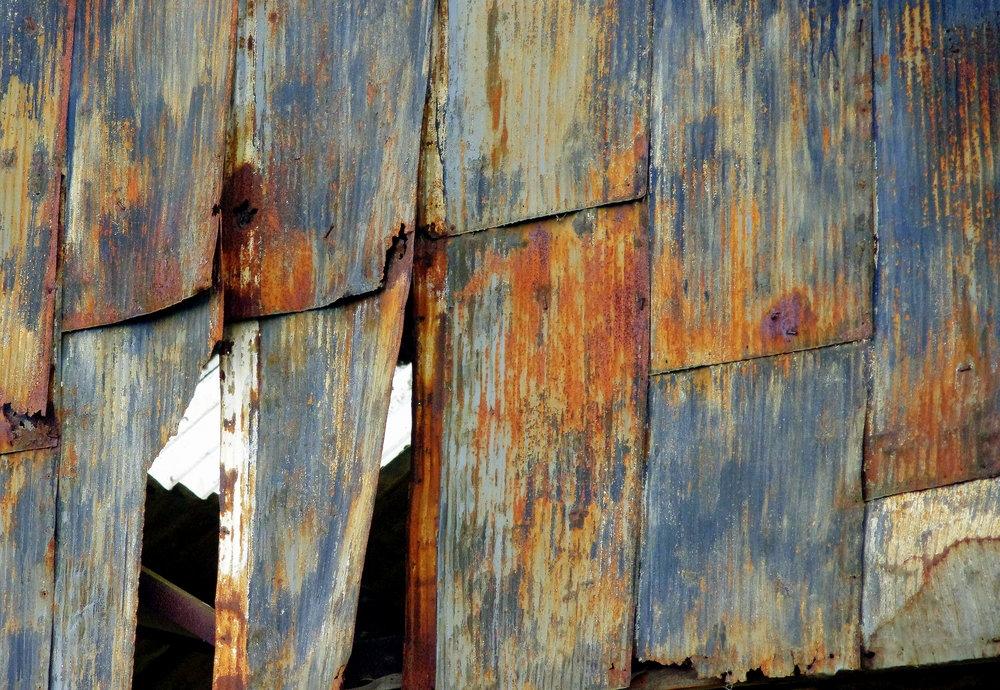 Any Old Corrugated Iron?