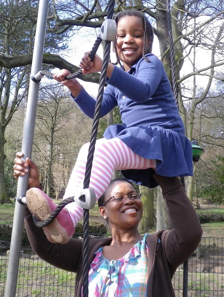 Tabitha and Mummy
