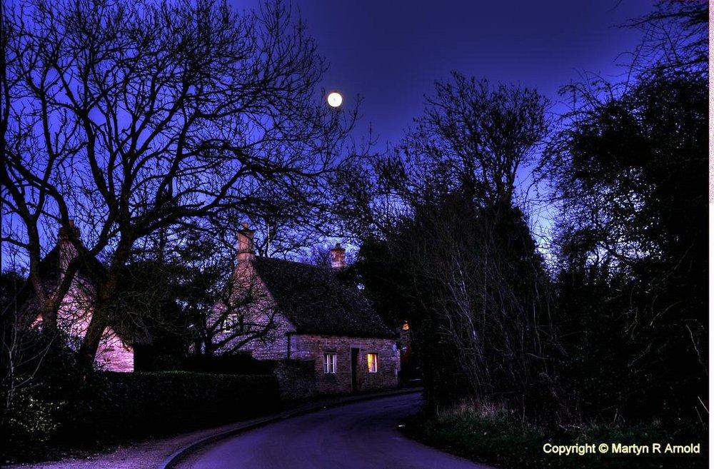 Village moonlight K5 & photomatix