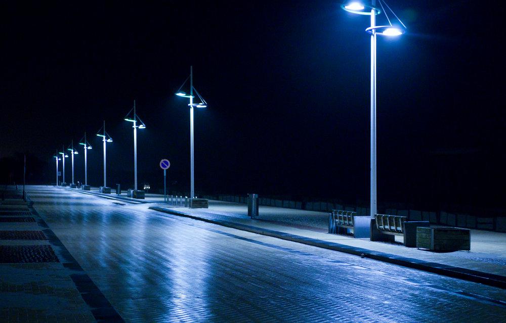 Zeebrugge by night