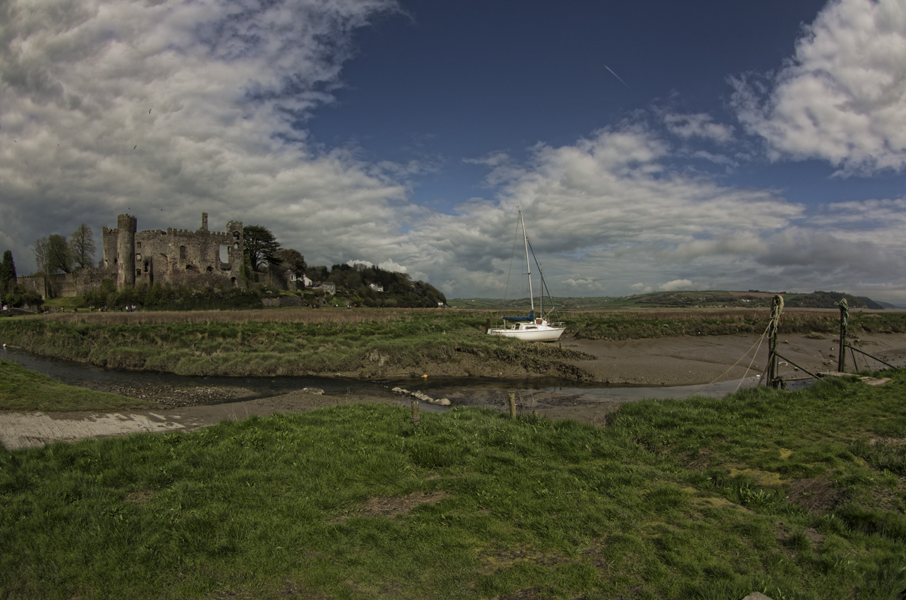 Laugharne and castle