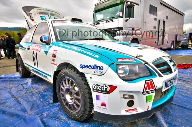 Matt Edwards, Bulldog Challenge Rally Winner 2011