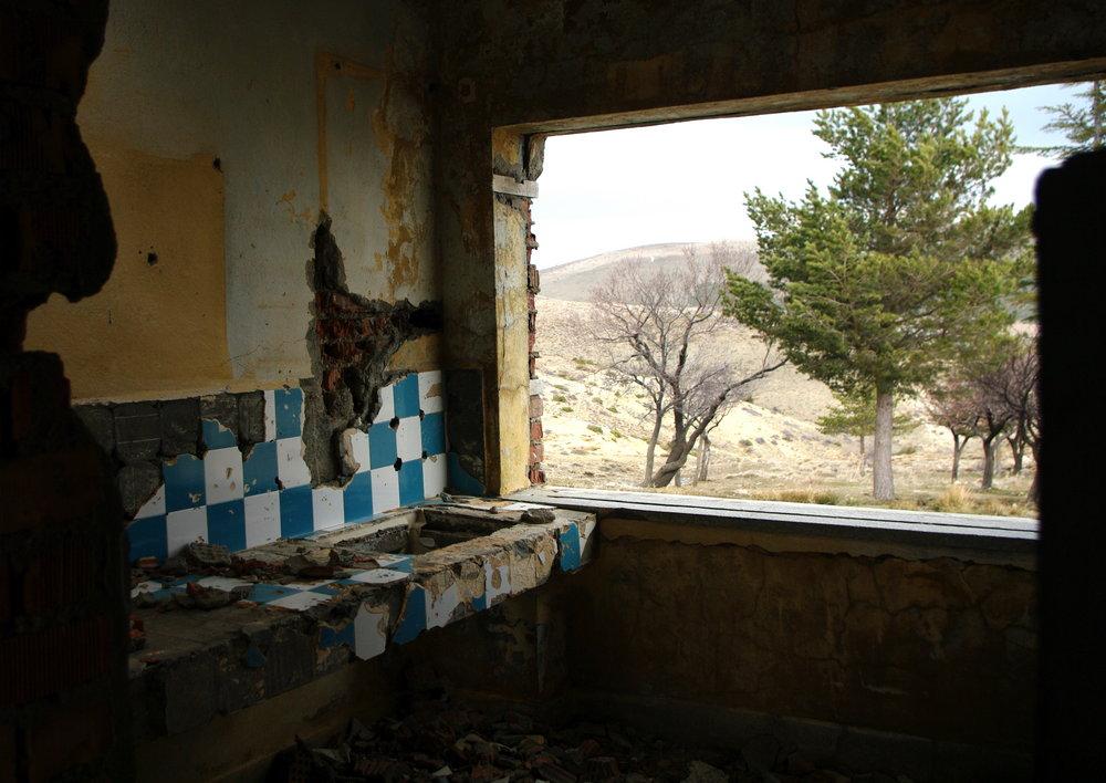 Ruined Kitchen