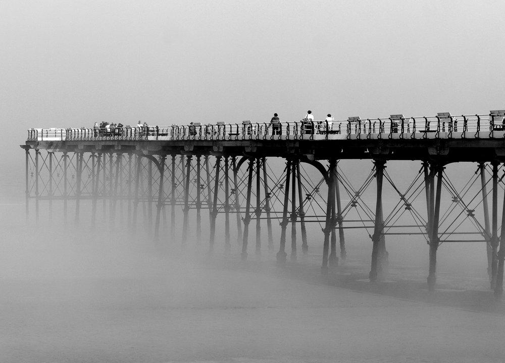 Saltburn Pier in the Mist