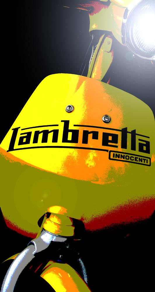 Graphic Lambretta