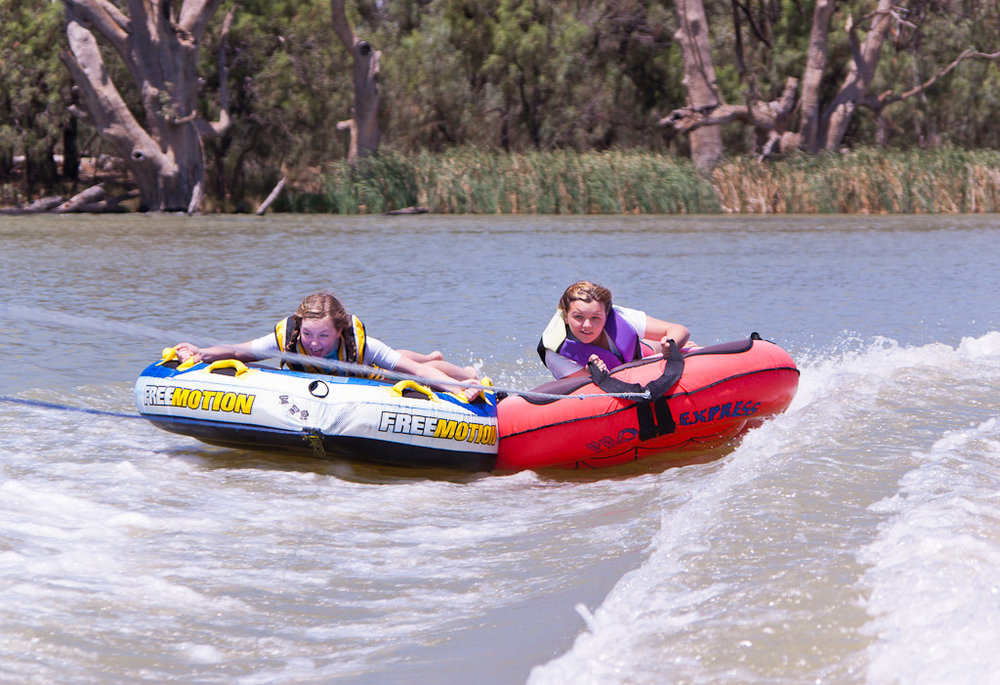 'Biscuits' on the Murray River