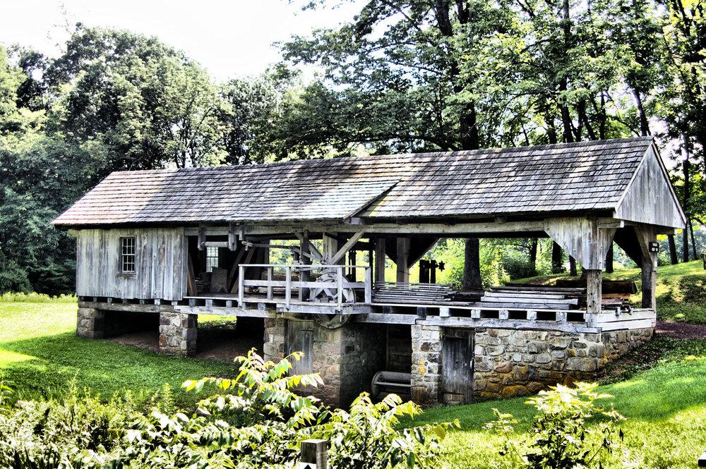 18th Century Sawmill