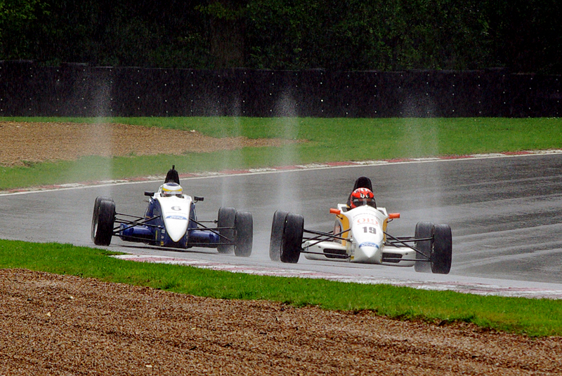 A bit wet!!