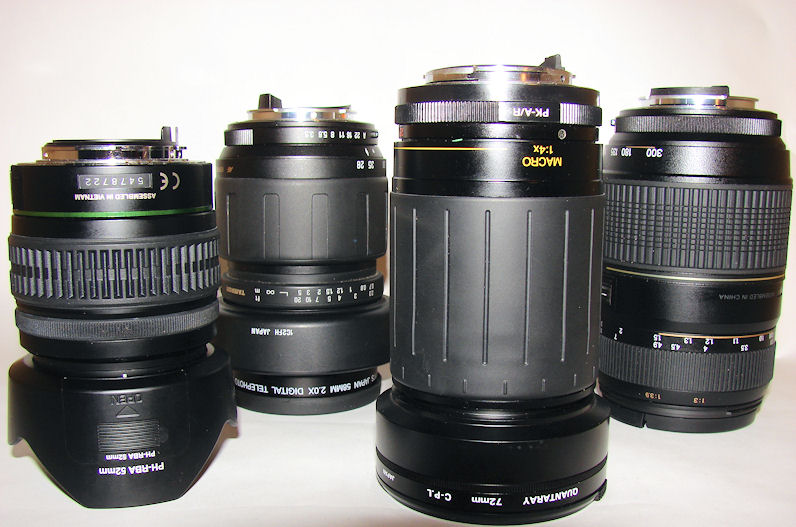 Camera Lens's That I Use