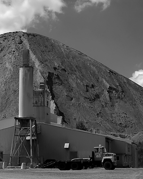Mining residues