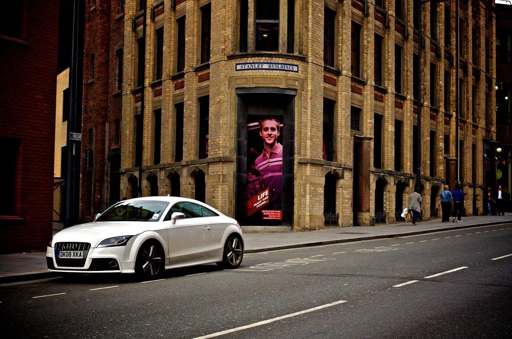 Audi TT in Liverpool