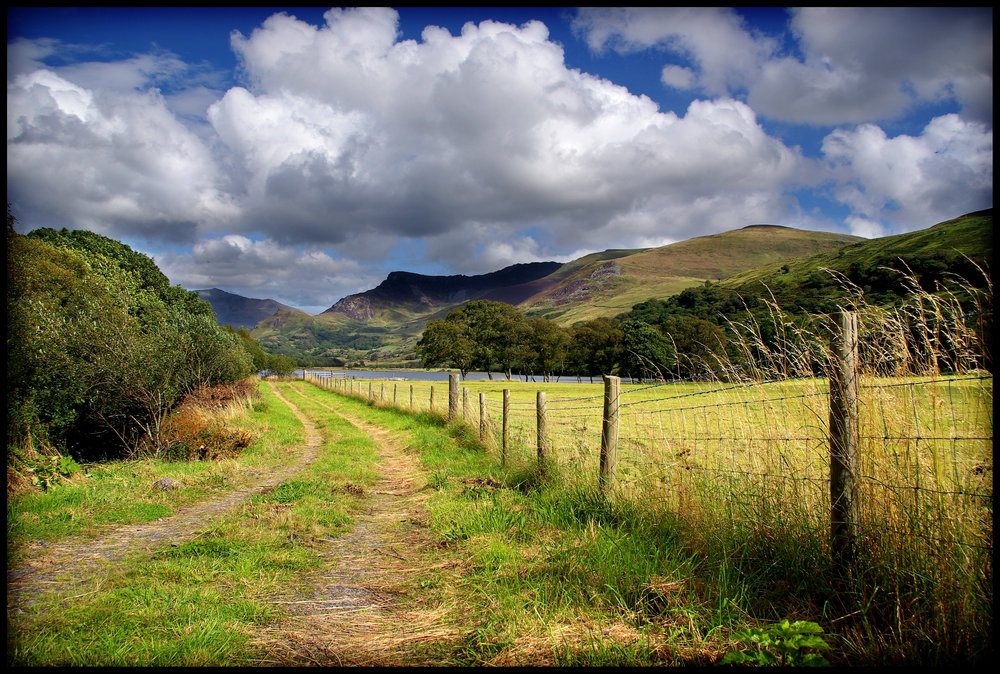 Farm Track in the Nantlle Valley