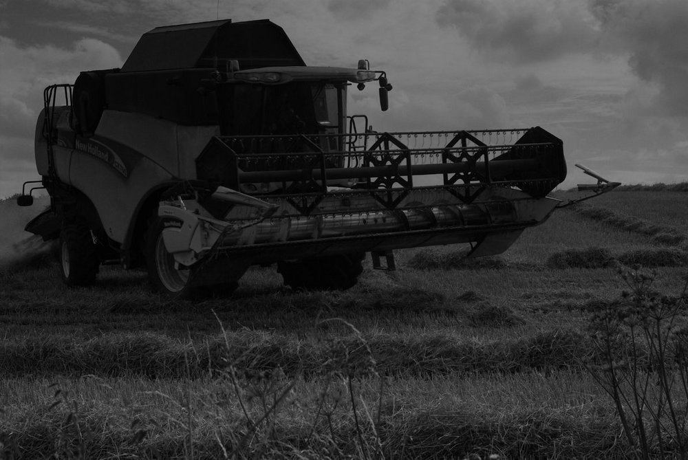 I've got a brand new combined harvester picture