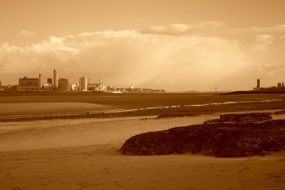 Liverpool taken from New Brighton