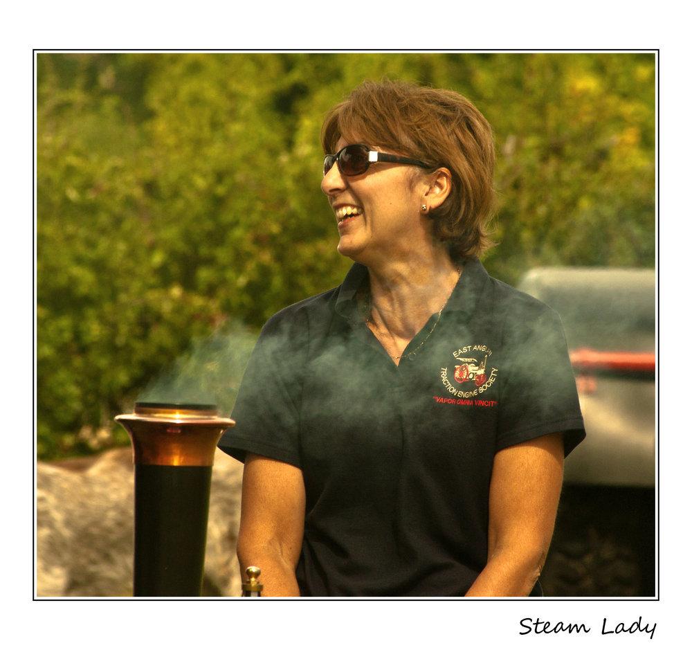 Steam Lady