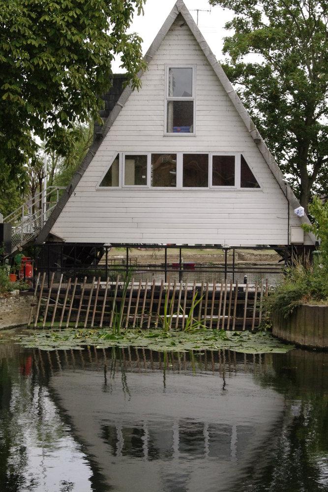 The Triangle house.