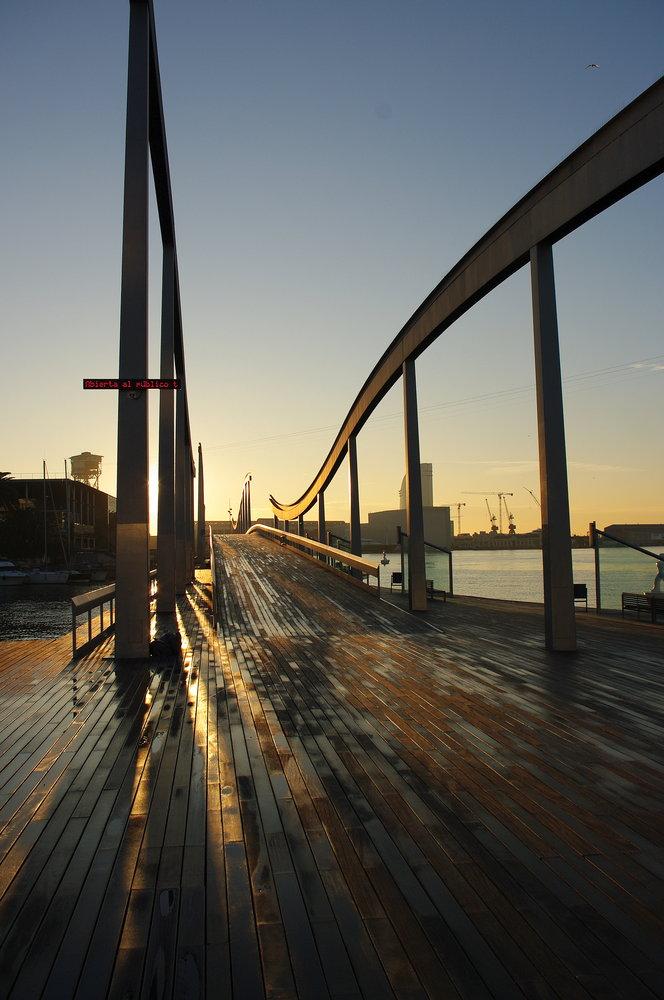 Bridge over Marina