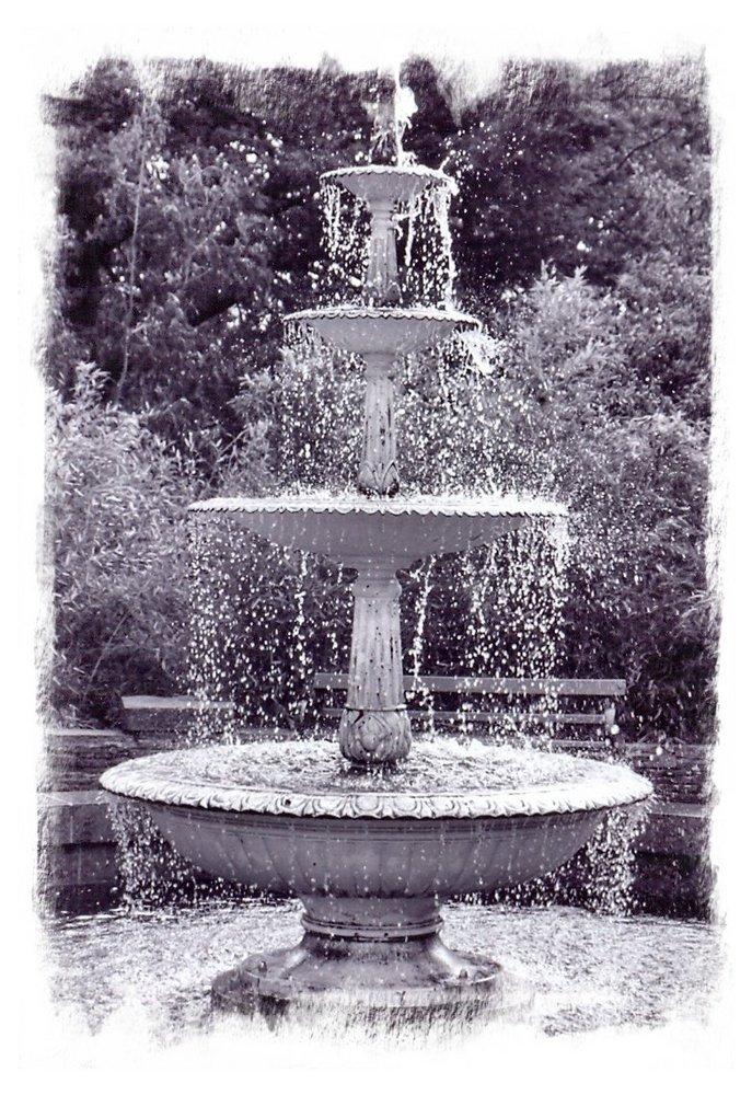 Fountain in Botanical Gardens