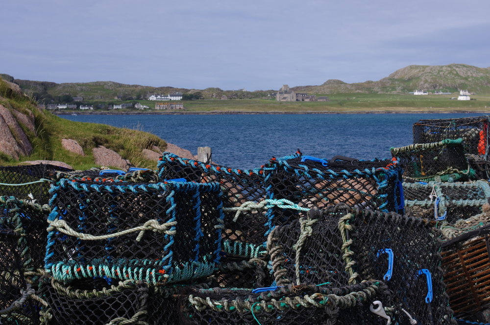 Iona Abbey, seen from Fionnphort