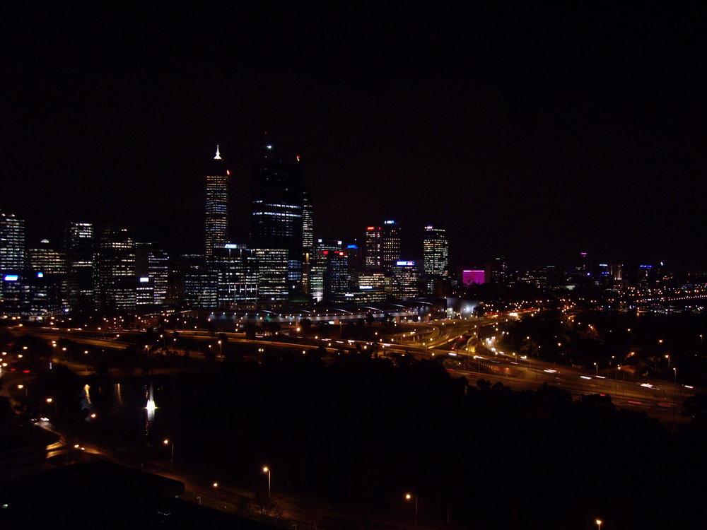 Night in Perth