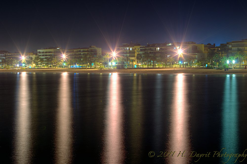 Nighttime in Cambrils