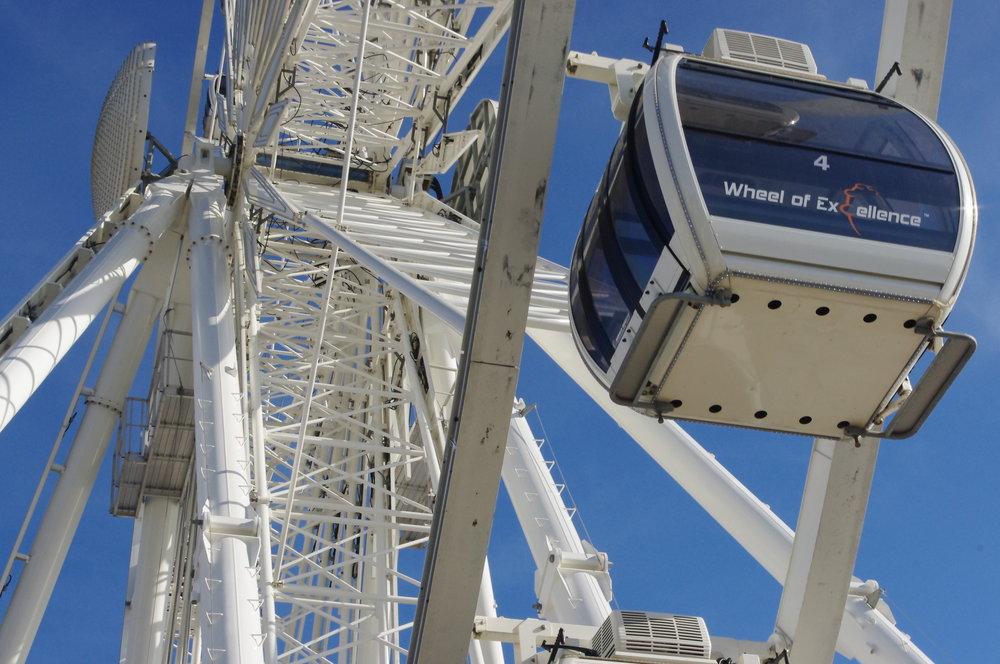 The big wheel, Brighton.