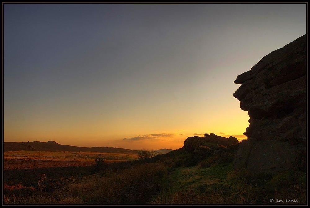 Sundown at Baldstone
