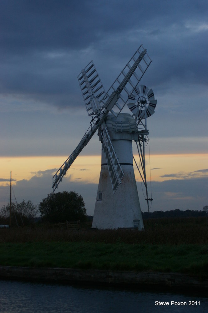 The White Windmill