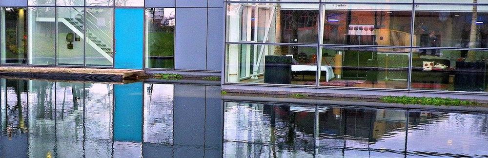 Modern building in Sheffield