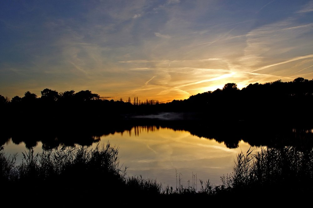 Rillé sunset