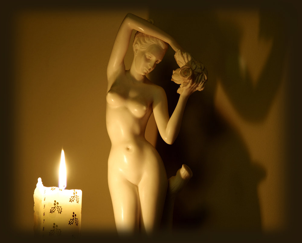 White Lady by Candlelight