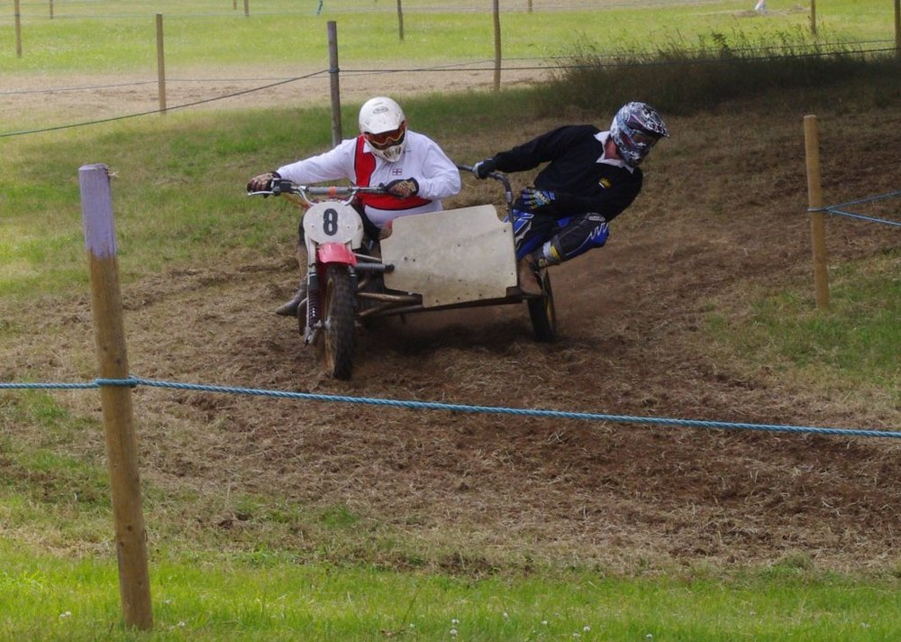 Dirtbike and Sidecar