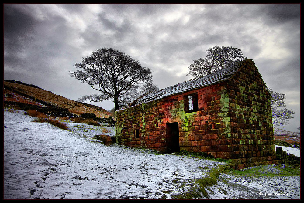 Ruined Barn...