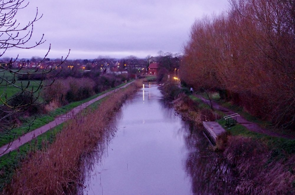 The Canal at Dusk